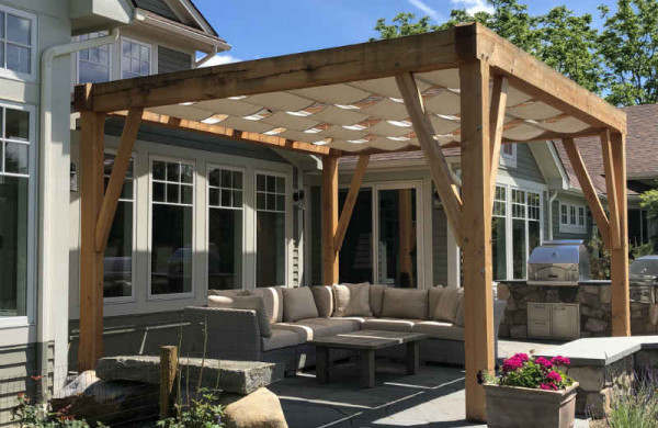 Featured Project Series: Pergola Canopy