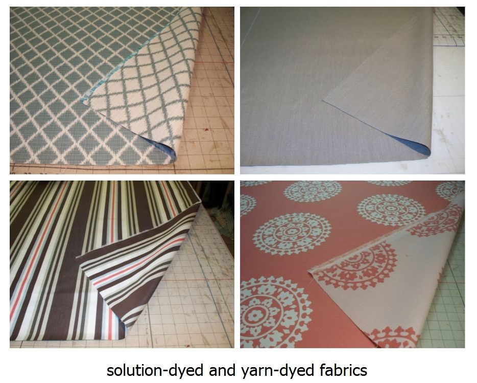 Solution And Piece Dyed Fabrics