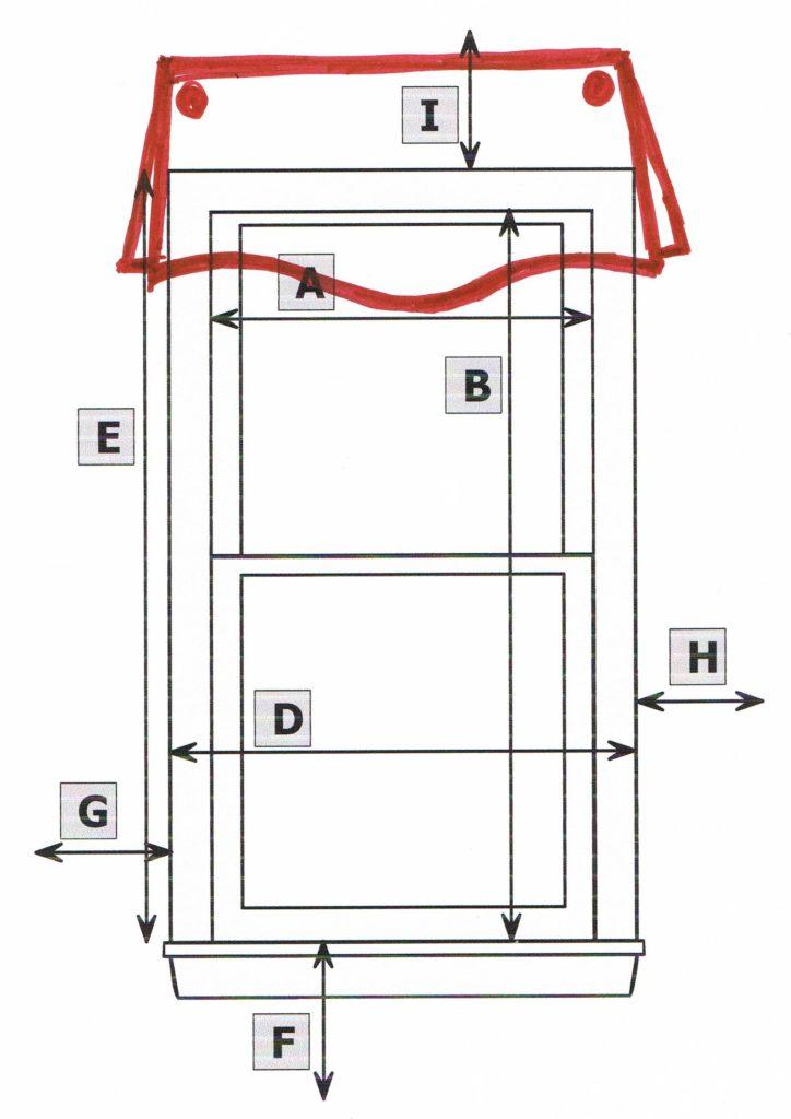 Window treatment RFQ sketch