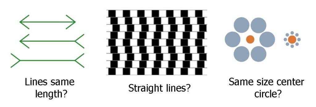 Three Optical Illusions